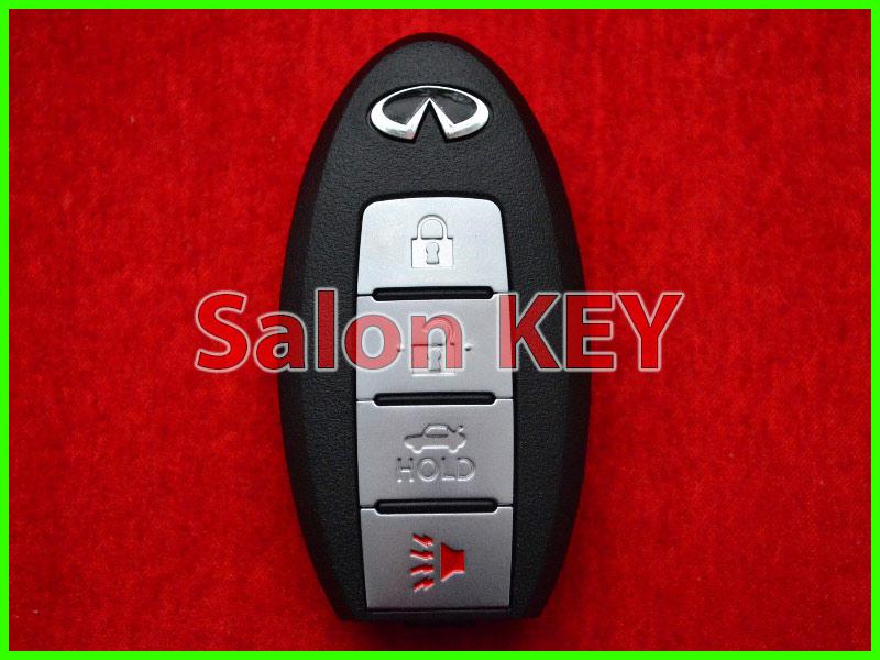 Ключ Infinity proxy 4 кнопки  FCC ID: CWTWBU624 285E3-ZQ30B