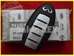 285E3-9NF5A Смарт ключ Infinit (Original) 285E39NF5A 5 кнопок с кнопкой автозапуска