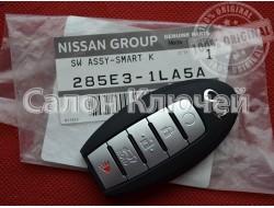 285E31LA5A Ключ Infiniti QX80 USA 2014-2019 (Original) 285E3-1LA5A CWTWB1G744