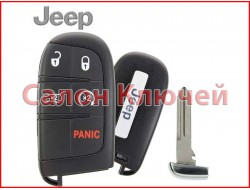 Смарт ключ Jeep Grand Cherokee USA 14-19 5 кнопок (ORIGINAL)