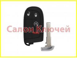 Смарт ключ Jeep Compass USA 17-19 4 кнопки (ORIGINAL)