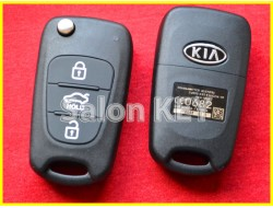 95430-1M250 Выкидной ключ KIA (Original) с чипом и кнопками 95430-1M251