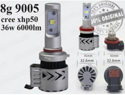 G8 HB3 9005 LED HeadLight 6500K/12000LM