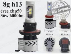 G8 H13 LED HeadLight 6500K/12000LM