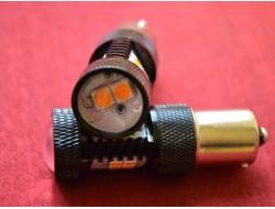 Супер Яркие P21W 1156 BAU15S CANBUS Osram SMD 14 оранжевый