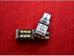 T15 W16W SMD 2835 15шт белый 6000Lux супер яркие