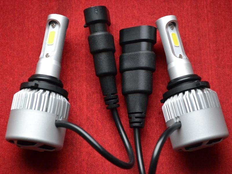 LED HeadLight S2 HB4 автомобильные лед лампы 36W 16000Lumen