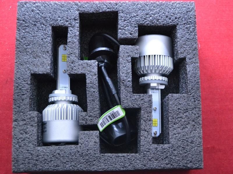 LED HeadLight S2 H27 (880) автомобильные лед лампы 36W 16000Lumen