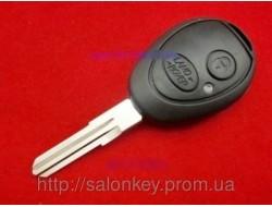 Ключ LAND ROVER корпус 2 кнопки