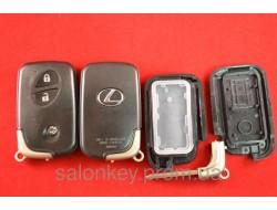 Lexus is220d, is300, is350, ls430, ls460, es350, gs460 rx400h ключ корпус смарт 3 кнопки