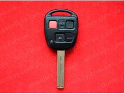 Ключ Lexus LX470 GX470 3 кнопки 314,4Mhz HYQ1512V 4D ID68