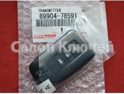 89904-78591 Ключ Lexus (Original) 8990478591