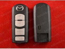 Mazda smart ключ корпус 4 кнопки