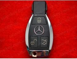 Изготовление хромированных ключей Mercedes по дампу замка.