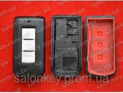 Корпус smart ключа Mitsubishi Lancer 3 кнопки Outlander