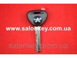 Ключ Mitsubishi Colt, Space star, Carisma с местом под чип лезвие HU56 без лого