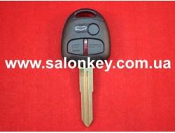 Ключ Mitsubishi лезвие MIT11R чип ID46 (PCF7936) 433Mhz 3 кнопки маркировка Q