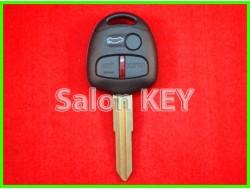 Ключ Mitsubishi Lancer 2004-2015 3 кнопки чип ID46 433Mhz