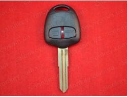 Ключ Mitsubishi Pajero 2 кнопки 06-15г ID46 433Mhz