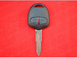 Ключ Mitsubishi ASX 2 кнопки 06-15г ID46 433Mhz