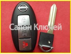 Ключ Nissan Juke USA 2011-2018
