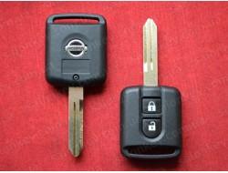 Ключ Nissan x-trail, note, qashqai, pathfinder корпус ключа квадрат