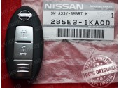 285E3-1KA9D Ключ Nissan Juke, Micra, Leaf, Note, Cube 2010-2019 TWB1G662 285E31KA9D 285E31FE0A 285E3-1FE0A
