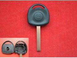 Ключ Opel с местом под чип Лезвие HU100