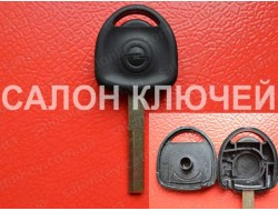Ключ Opel с местом под чип Лезвие HU43