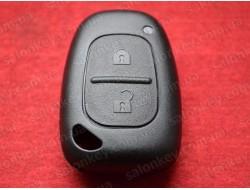Ключ корпус Opel Movano Vivaro 2 кнопки Польша хорошего качества без лезвия