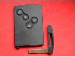 Ключ карта Renault Scenic / Megane / Laguna / Fluence 2009-2016 Remote System No-Handsfree PCF7941/PCF7961