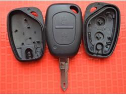 Ключ корпус Opel Movano Vivaro 2 кнопки с лезвием NE73 Китай