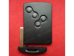 Key card Smart System Renault Clio / Captur  433MHz FSK PCF7952