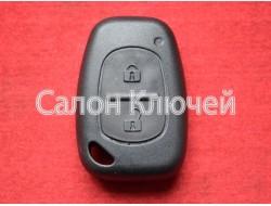 Корпус ключа Renault Kangoo, Trafic, Master и др.
