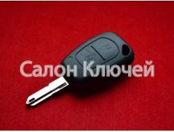 Корпус ключа Renault Master Trafic и др. 2 кнопки лезвие NE73