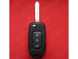 Ключ выкидной Рено Каптюр, Каджар PCF7961 433Mhz
