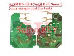 Смарт ключ Renault Megane плата для ремонта 433MHz PCF7943 Hands Free