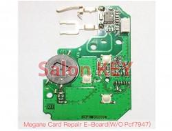 Смарт ключ Renault Megane плата для ремонта 433MHz PCF7947