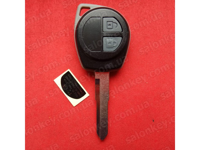 Ключ Suzuki sx4, xl7, splash, grand vitara, swift, liana чип id46 434MHZ