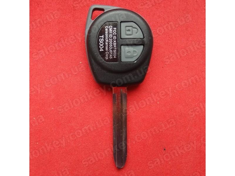 Ключ Suzuki Grand Vitara с чипом и кнопками
