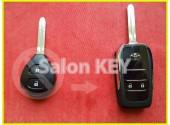 Выкидной ключ Toyota 2 кнопки для переделки из обычного Новый стиль
