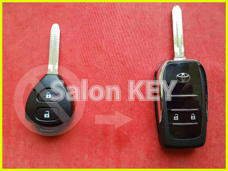 Выкидной ключ Toyota для переделки из обычного