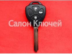 Ключ Toyota Avensis 08-10 с чипом и кнопками
