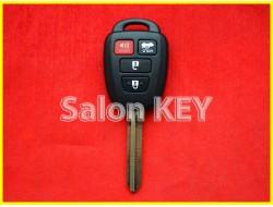 89070-06421 Ключ Toyota (Турция без лого) с чипом и кнопками 8907006421