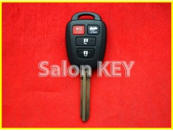 89070-06421 Ключ Toyota (OEM) с чипом и кнопками