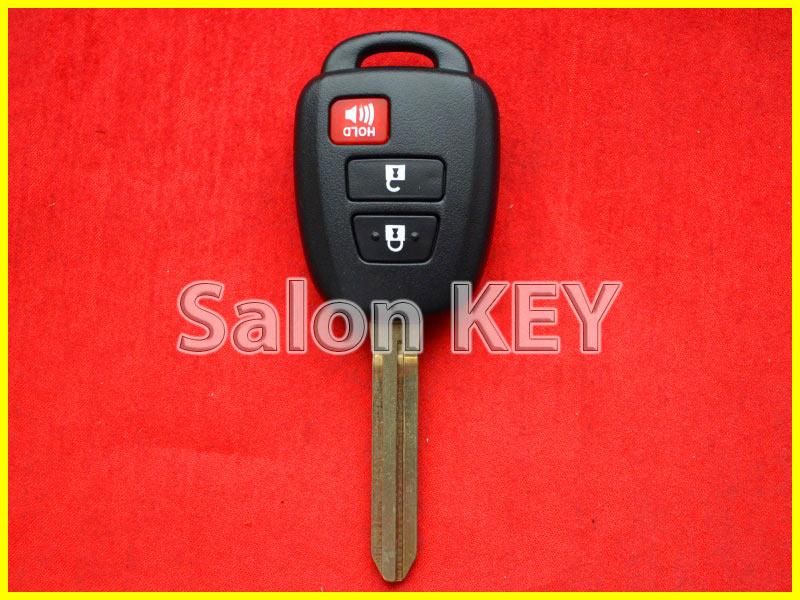 Ключ Тойота Хайлендер Америка Лицензия