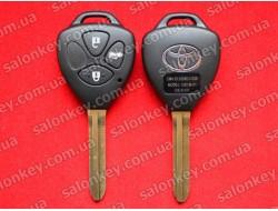 8907033D90 / 8907033D91 Ключ Тойота с чипом и кнопками