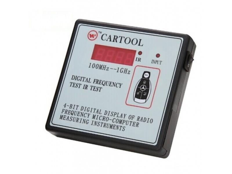 Частотомер. 2в1 Digital Frequency IR Test (100MHZ-1GHZ)