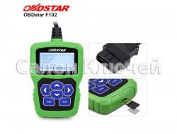 OBDSTAR F102 Infiniti Nissan программатор ключей и смарт ключей без пин кода отмотка спидометра