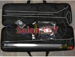 Набор проволока, крючок, петля, линейка, подушка для аварийного открытия автомобилей